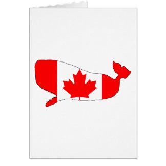 Canada Cachalote Card
