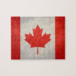 Canada; Canadian Flag Jigsaw Puzzle