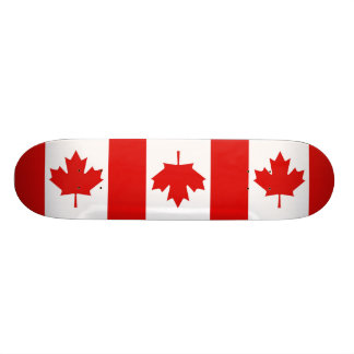 Canada Canadian Maple leaf flag Custom Skate Board