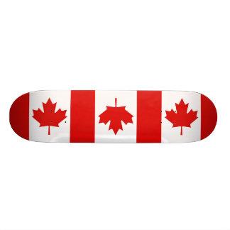 Canada Canadian Maple leaf flag Custom Skate Board