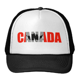 Canada Mesh Hats