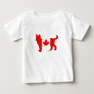 Canada Cat Baby T-Shirt