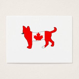 Canada Cat Business Card