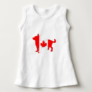 Canada Chihuahua Dress
