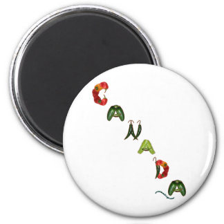 Canada Chili Peppers Magnet