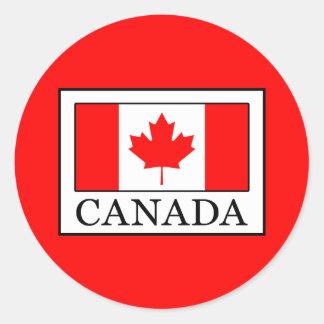 Canada Classic Round Sticker