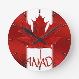 Canada Clock Canada Flag Souvenir Wall Clocks Gift
