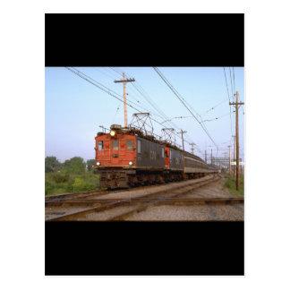 Canada, CNR boxcab electric_Trains of the World Postcard