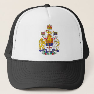 Canada Coat Of Arms Trucker Hat
