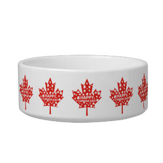 Canada Day Celebration Bowl