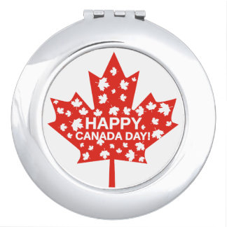 Canada Day Celebration Compact Mirror