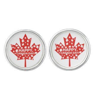 Canada Day Celebration Cufflinks