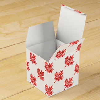 Canada Day Celebration Favour Box
