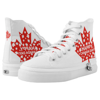 Canada Day Celebration High Tops