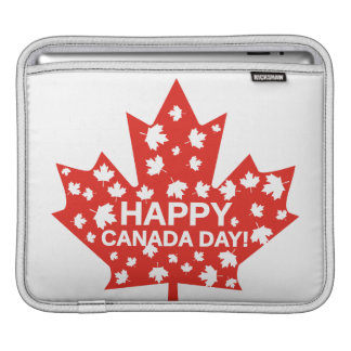 Canada Day Celebration iPad Sleeve