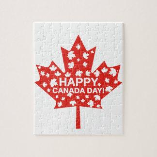 Canada Day Celebration Jigsaw Puzzle