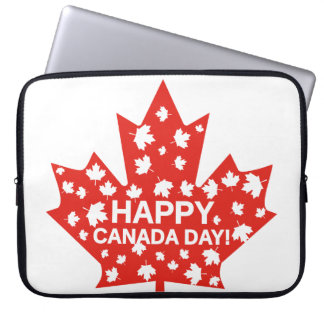 Canada Day Celebration Laptop Sleeve