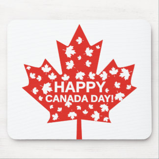 Canada Day Celebration Mouse Pad