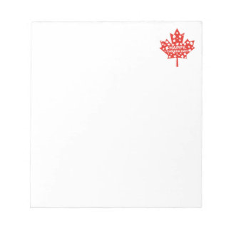 Canada Day Celebration Notepad