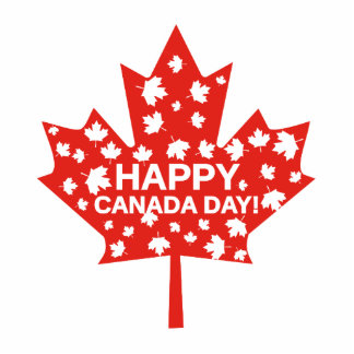 Canada Day Celebration Photo Sculpture Badge