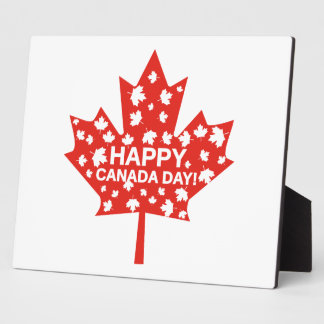 Canada Day Celebration Plaque