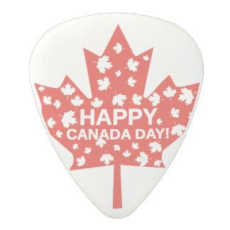 Canada Day Celebration Polycarbonate Guitar Pick