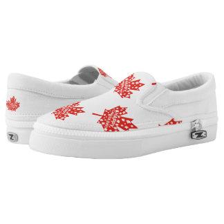 Canada Day Celebration Slip On Shoes