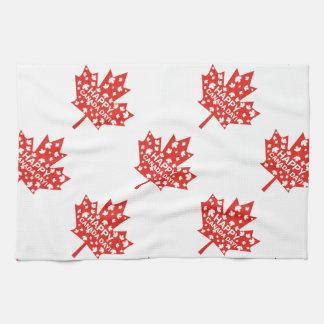 Canada Day Celebration Tea Towel