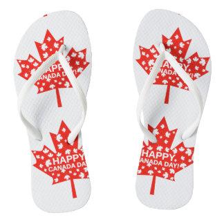 Canada Day Celebration Thongs