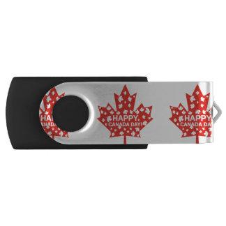 Canada Day Celebration USB Flash Drive
