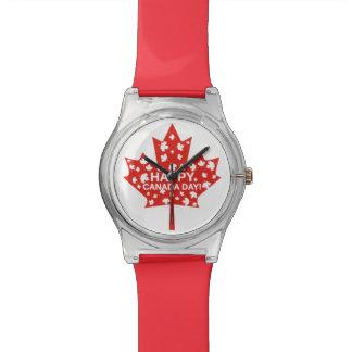 Canada Day Celebration Wrist Watches