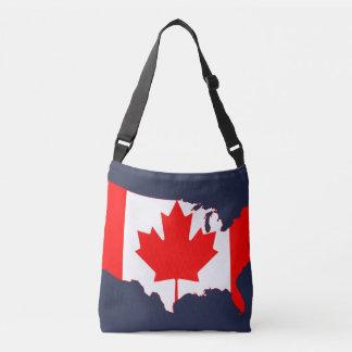 Canada Day Crossbody Bag