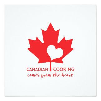 Canada Day Gourmet Card
