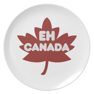 Canada Day Humour Party Plates