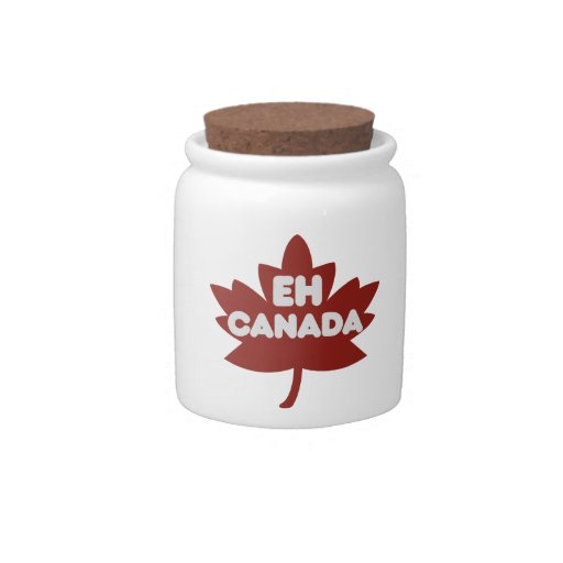 Canada Day Humour Candy Jars