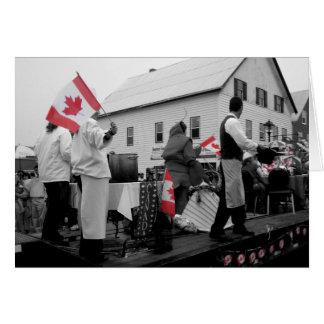 Canada Day in St. Andrews, NB Card