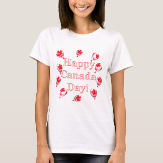 Canada Day Maple Leaf Balloons T-Shirt