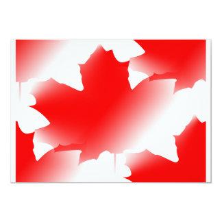 Canada Day - Maple Leaf Card