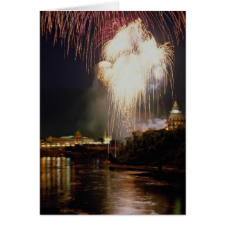 Canada Day on the Ottawa River, Ontario, Canada Greeting Card