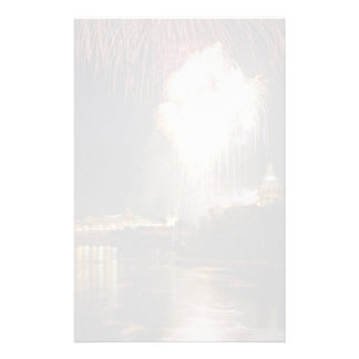 Canada Day on the Ottawa River, Ontario, Canada Customized Stationery