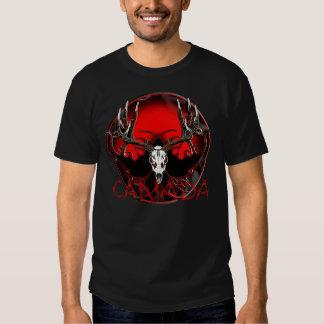 Canada deer skull t shirts