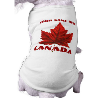 Canada Dog Shirt Personalized Canada Pet Souvenir