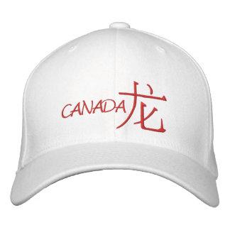 Canada Dragon Embroidered Cap