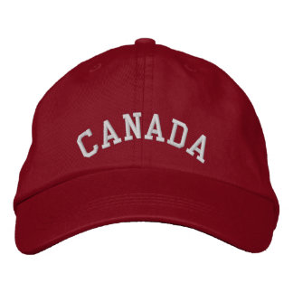 Canada Embroidered Baseball Cap/Hat Embroidered Hat