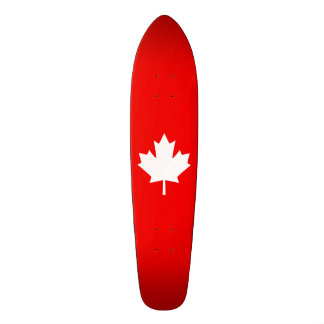 Canada Established 1867 Anniversary 150 Years 21.6 Cm Skateboard Deck