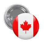 Canada Flag 3 Cm Round Badge