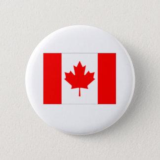 Canada Flag 6 Cm Round Badge