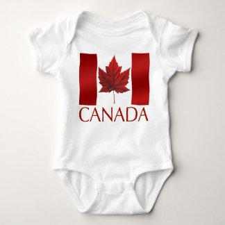 Canada Flag Baby Jumper Canada Baby One Piece Baby Bodysuit