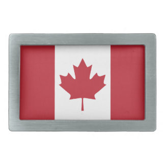 Canada Flag Belt Buckle