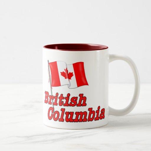 Canada Flag - British Columbia Coffee Mugs